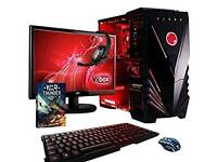 Brand new ,Vibox Sharp Shooter Package 7S Gaming PC - with Warthunder Game Bundle,