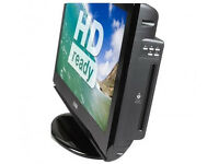 LOGIK 26 inch lcd tv with built in dvd player; OFFERS