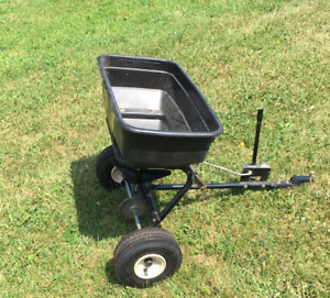 Agri-Fab 100 lb Tow Broadcast Spreader; $75