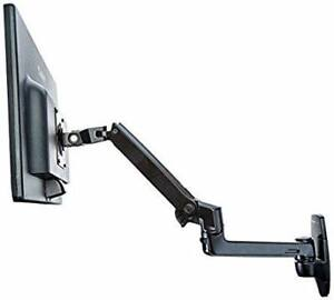 Wall mounted articulating monitor arm