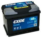 Exide Accu Excell EB602 60 Ah FORD C-MAX II  1.6 LPG