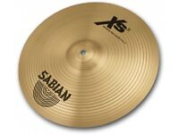 "Sabian XS20 14"" Medium Thin Crash Cymbal in Good Condition"
