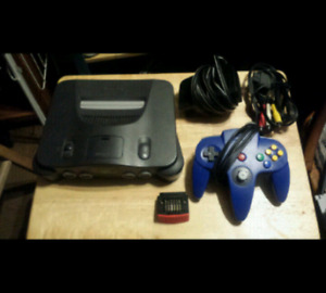 N64 with Hookups, Controller and Expansion Pak