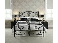 wanted double metal bed white or black and also a bunk bed cash waiting