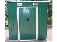 6x4 Metal Garden Shed Brand New