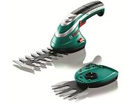 Bosch cordless hedge trimmer new