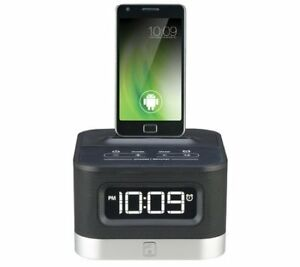 Used iHome iC50BY Android Alarm Clock Speaker Dock