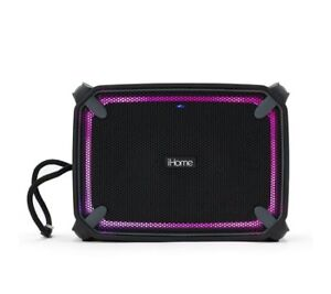 iHome Waterproof Bluetooth Speaker with Accent Lighting iBT372