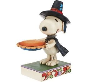 Jim Shore Peanuts Snoopy We give thanks