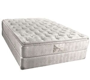 Beautyrest Queen Mattress with matching box spring and frame