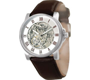 Kenneth Cole New York Stainless Steel / Leather Automatic Watch