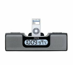 iHome Speaker System With Dock Alarm Clock Radio....