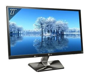 "LG IPS 27"" LED Monitor IPS277L-BN Like New!"