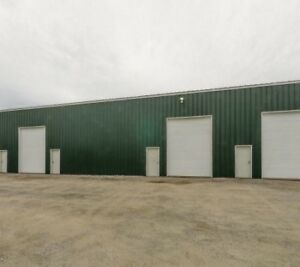 Sale or Lease 50'x 100' - Steel Building c/w offices and 4 Bays.
