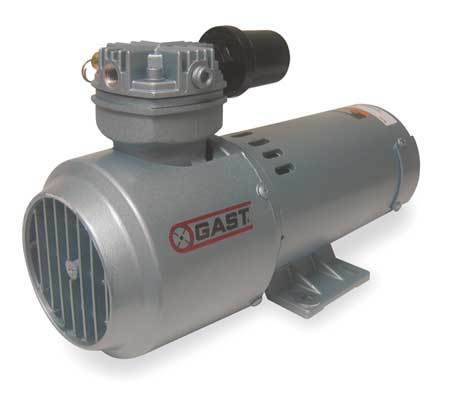 Gast 2Hah-251-M322 Piston Air Compressor,1/3Hp,12Vdcv