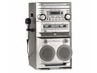 Karaoke Machine The singing machine Multi CD Player + 2 Tape Decks Excellent Condition Only £40 xmas