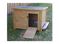 duck / hen house in excellent condition perfect for back garden hens or ducks