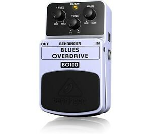 Blues Overdrive Guitar Pedal