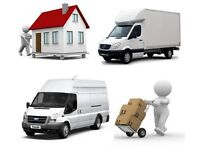 URGENT SHORT NOTICE NATIONWIDE MAN&LUTON VAN HIREHOUSE/OFFICE REMOVALS PIANO/COURIER/RUBBISH MOVERS