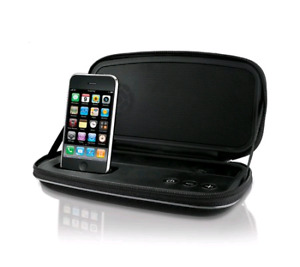 iHome portable stereo speakers for iPhone/iPod