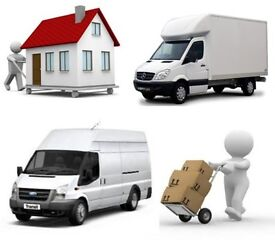 SHORT NOTICE URGENT NATIONWIDE MAN&LUTON VAN HIRE HOUSE/OFFICE REMOVALS PIANO/COURIER/RUBBISH MOVERS