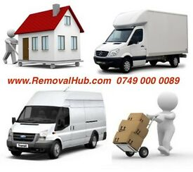 24-7 🚚 MAN AND LUTON VAN REMOVAL MOVING SERVICE HIRE WITH A HOUSE PIANO MOVER DRIVER PALLET LIFTER