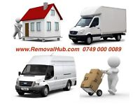 24/7 MAN AND VAN REMOVAL & DELIVERY MOVING SERVICE LUTON TRUCK DRIVER HIRE HOUSE MOVER WITH 7.5 TONN