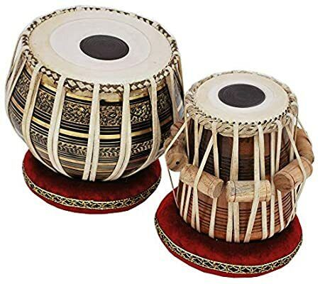 Awesome sale Tabla Drum Set - Buy 2.5KG Black Brass Bayan, Finest Dayan with Boo