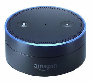 amazon echo dot 1st generation smart assistant black. Black Bedroom Furniture Sets. Home Design Ideas