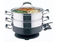 Prestige a la carte, cook and steam