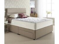 Double Divan Bed Base 2x Draw