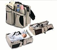 NEW 3 in 1 - Diaper Baby Bag - Travel Bassinet - Change Station