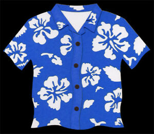 #68 DELUXE LASER Scrapbooking Cuts – RED HAWAIIAN SHIRT -  $1.25