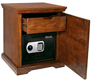 Honeywell 5103SL Steel Security Safe in Decorative Cabinet