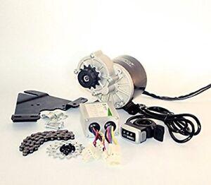 Electric bicycle motor conversion kit