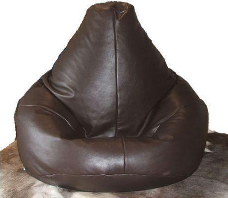 Real Leather Bean Bag Ebay