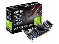 Asus Nvidia GeForce 1GB GT 610 Silent Graphics Card (Condition Used)
