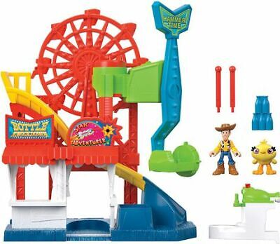 Fisher-price Imaginext Disney Pixar Sheriff Woody and Ducky Toy Story 4 Carnival