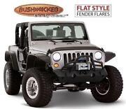 Jeep Wrangler Bushwacker Fender Flares