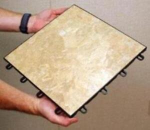 Kwik-Tile floating Ceramic Flooring