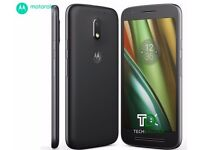 Motorola Moto e3 black - New, boxed, unopened and sealed