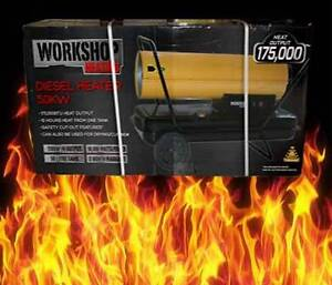 Diesel 50kw Large Drying / Curing / Workshop Heater 50,000 Watts Browns Plains Logan Area Preview