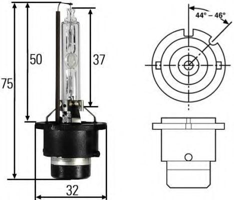 5 Units Hella Bulb HID LAMP D2S 35W 8GS workspotspotD2S 8GS007949-261