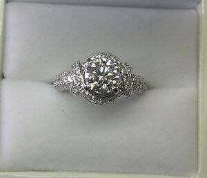 High Quality Diamond Engagement Ring 1.33ct VS2 Round F Colour Archerfield Brisbane South West Preview