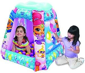 Shimmer and Shine  blow up ball pit.
