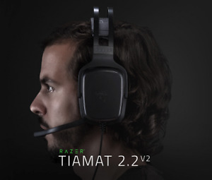 SEALED RAZER TIAMAT 2.2 V2 ANALOG DOUBLE SUB GAMING HEADSET
