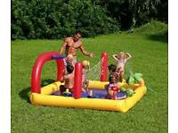 Free Local Delivery Large sized Brand new boxed sports swim/sand pool Arena with water sprayer