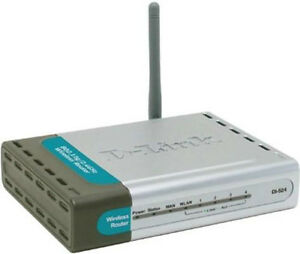 D-Link Dl-524 Wireless/Ethernet Broadband Router London Ontario image 1