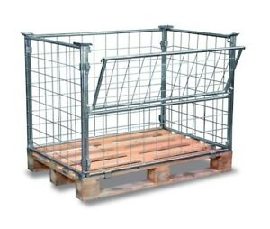 wire mesh containers / crates / shipping crates
