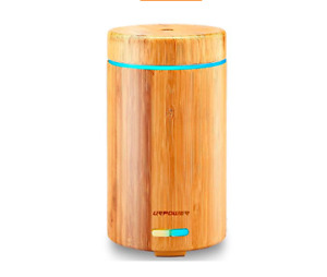 Bamboo Essential Oil Diffuser Ultrasonic Aromotherapy Diffuser
